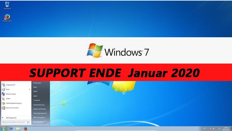 Support-Ende für Office 2010 und Windows 7