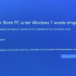Windows 7 Support wurde eingestellt